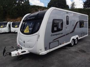 Swift Caravans Conqueror 630
