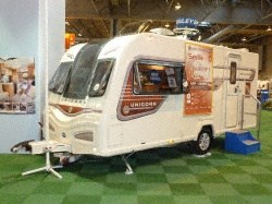 Bailey Caravans Unicorn Seville